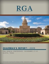 RGA 2009 Chairman's Report