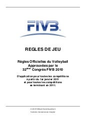 Règles volley