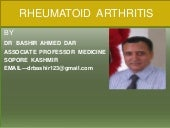 TREATMENT OF RHEUMATOID ARTHRITIS B...