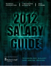2012 Salary Guide - Robert Half Tec...