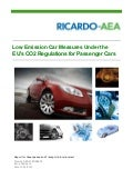 Low emission car measures