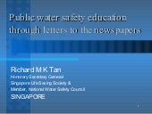 Public Water Safety Education Throu...