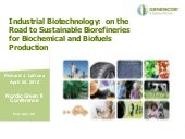 Industrial Biotechnology-Sustainabl...