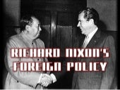 Richard Nixon's Foreign Policy