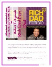 Rich dad poor dad summary, evaluati...