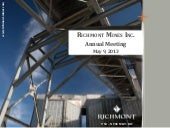 Richmont may13agm pres
