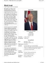 Rick Scott (Wikipedia Info)