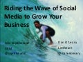 Riding the wave of socal media to grow your business