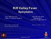Rift valleyfeversymptoms.ppt