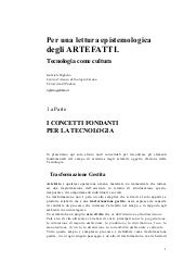 Righetto.Lettura epistemologica art...