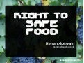 Right to Safe Food