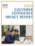 RightNow's 4th Annual Customer Experience Impact Report