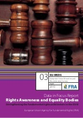 Rights Awareness And Eequality Bodies