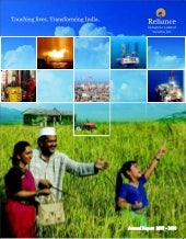 Ril Annual Report 2007 08