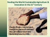 Feeding the World: Sustainable Agri...