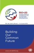 Rio+20 Brochure - Building Our Common Future