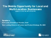 Webinar- The Mobile Opportunity for Local and Multi-Location Businesses