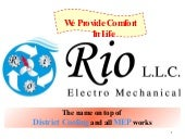 Rio LLC  District Cooling
