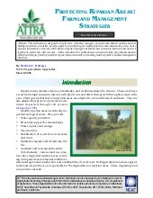 Protecting Riparian Areas: Farmland...