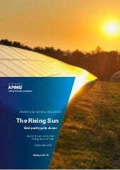 KPMG Rising Sun 2012 Report