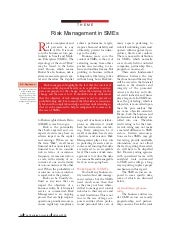 Risk mitigation strategies in SMEs ...