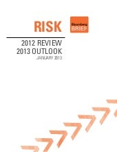 Risk 2012 Review & 2013 Outlook