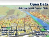 Open Data - Intro & Current State f...