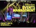 Effective Events Management for Non Profit (NGO)
