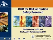 CRC for Rail Innovation Safety Rese...