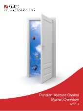 RMG Russian Venture Capital Market ...