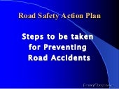 Road Accident Prevention Free Pps