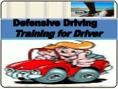 Road safety defensive driver`s driving training mannual