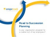 Need of succession planning