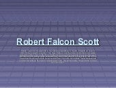 Robert falcon scott history