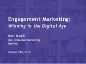 Engagement Marketing in Digital Age