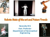 Robots: state of-the-art and future trends