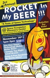 Rocket In My Beer Returns to Discovery Center in November
