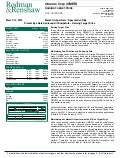 Rodman & Renshaw Report on Omeros Corp