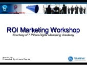 Digital Marketing ROI Workshop