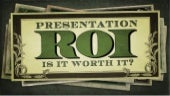 Presentation ROI - Is It Worth It? - @yanceyu