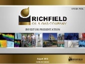 Richfield Oil & Gas Co. video
