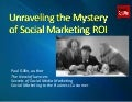 Social Marketing ROI - Yes, You Can!