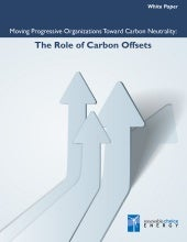 The Role of Carbon Offsets: Moving ...