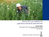 Role of icts as enabler for agricul...