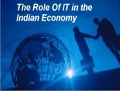 Role of it in indian economy