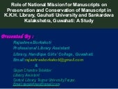 Role of national mission for manusc...