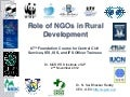 Role of NGOs in rural development
