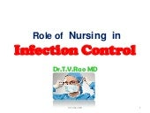 Role of  Nursing  in  Infection Co...