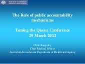 Role of Public Accountability Mecha...