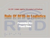Role Of RFID In Logistics